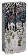 Arlington Winter Snow Portable Battery Charger
