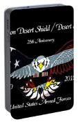 Armed Forces Desert Storm Portable Battery Charger