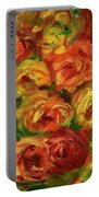 Armful Of Roses 1918 Portable Battery Charger