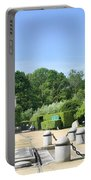 Armistice Clearing In Compiegne Portable Battery Charger by Travel Pics