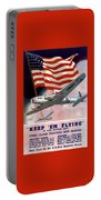 Army Air Corps Recruiting Poster Portable Battery Charger