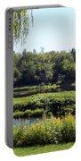 Aroostook River Landscape Portable Battery Charger