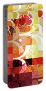 Arraygraphy - Sunset Inferno Triptych Portable Battery Charger