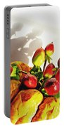 Arrangement On Squash 3 Portable Battery Charger by Sarah Loft