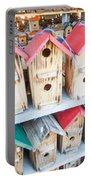 Array Of Handmade Birdhouses For Sale Portable Battery Charger