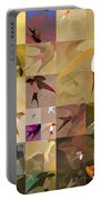 Arraygraphy - Birdies Sepia, Part 1 Portable Battery Charger