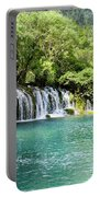 Arrow Bamboo Waterfall Portable Battery Charger