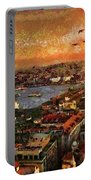 Art Beautiful Views Exist Fragmented Portable Battery Charger