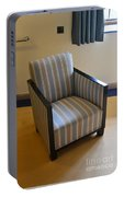 Art Deco Chair Portable Battery Charger