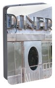 Art Deco Diner Portable Battery Charger