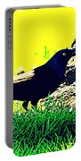 Art Deco Grackle Portable Battery Charger
