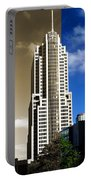 Art Deco Nbc Tower Portable Battery Charger