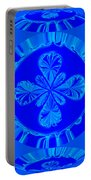 Art In Blue Portable Battery Charger