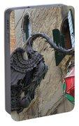 Art Nouveau Dragon In Marzaria Venice Italy Portable Battery Charger