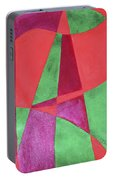 Art Painted In Abstract  Portable Battery Charger