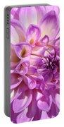 Art Prints Dahlia Flower Decorative Art Garden Baslee Portable Battery Charger