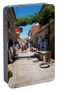 Art Street In Varazdin Portable Battery Charger