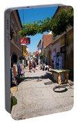 Art Street In Varazdin Portable Battery Charger