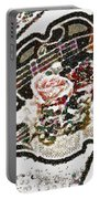 Art Violin And Roses Pearlesqued In Fragments  Portable Battery Charger