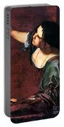 Artemisia Gentileschi Portable Battery Charger