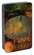 Artful Pumpkins Portable Battery Charger