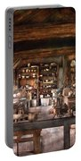 Artist - Potter - The Potters Shop  Portable Battery Charger by Mike Savad