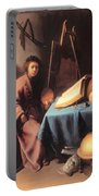 Artist In His Studio 1632 Portable Battery Charger