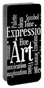 Artistic Inspiration Portable Battery Charger