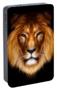 Artistic Lion Portable Battery Charger