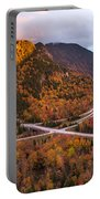 Artists Bluff Sunset Rainbow Portable Battery Charger
