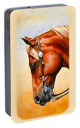 Precision - Horse Painting Portable Battery Charger