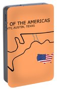 Circuit Of The Americas Portable Battery Charger