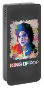 King Of Pop Portable Battery Charger