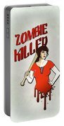 Zombie Killer Portable Battery Charger by Nicklas Gustafsson