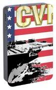 Cvn-70 Uss Carl Vinson Portable Battery Charger