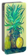 Pear And Pineapple Portable Battery Charger