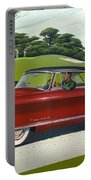 1953 Nash Rambler - Square Format Image Picture Portable Battery Charger