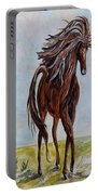 Splashing The Light - A Young Horse Portable Battery Charger