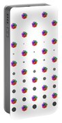 Rainbow Rose 01 Portable Battery Charger
