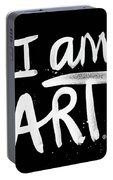 I Am Art- Painted Portable Battery Charger