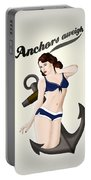 Anchors Aweigh - Classic Pin Up Portable Battery Charger