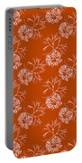 Orange Seaweed Marine Art Furcellaria Fastigiata Portable Battery Charger
