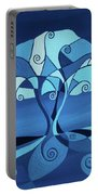 Enveloped In Blue Portable Battery Charger