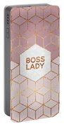 Boss Lady Portable Battery Charger by Elisabeth Fredriksson
