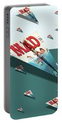 180 Mad Paper Airplanes Portable Battery Charger