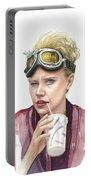 Jillian Holtzmann Ghostbusters Portrait Portable Battery Charger