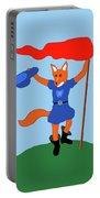 Reynard The Fairy Tale Fox Portable Battery Charger