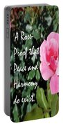 A Rose Is Proof Portable Battery Charger