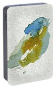 Abstract Bird Singing Portable Battery Charger