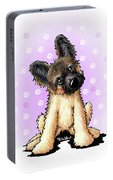 Kiniart Shepherd Puppy Portable Battery Charger